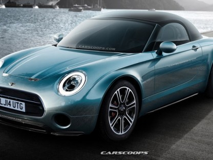 Future Cars: Mini Superleggera Roadster in Production Clothing Eyes MX-5